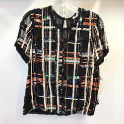 Women's Parker Sequin Top. Size L