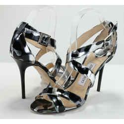 Jimmy Choo Lottie Camo Leopard Sandals