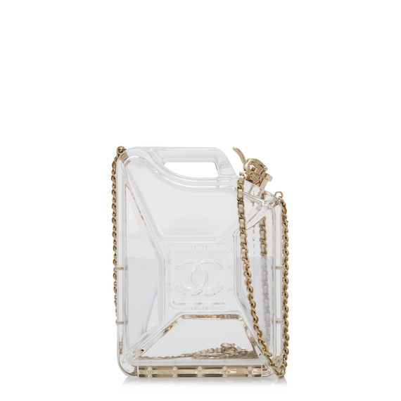Pre-owned Chanel Jerry Can Plexiglass Shoulder Bag
