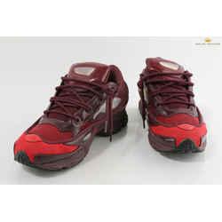 Adidas Men's 'ozweego 3' Raf Simons Burgundy Sneakers