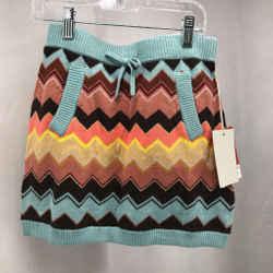 Missoni For Target Blue Girls Skirt Large