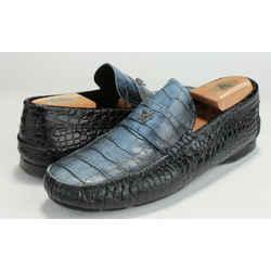 Versace Degrade Croc Effect Medusa Car Shoe
