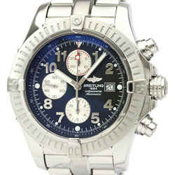 Polished BREITLING Super Avenger Chronograph Automatic Watch A13370 BF534607
