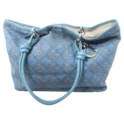 Dior      Blue Cannage Shopper tote Bag 122dior5