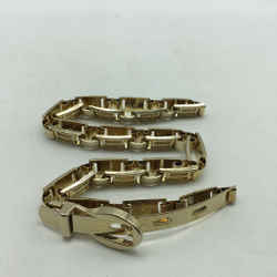 St John Metal Gold Belt