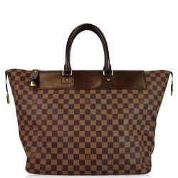 Louis Vuitton Greenwich Pm Damier Ebene Travel Tote Bag Brown