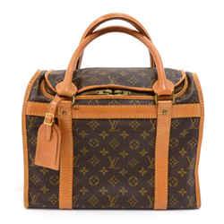 Vintage Louis Vuitton Sac Chaussures 35 Poches Monogram Canvas Trunk Travel Bag LQ657