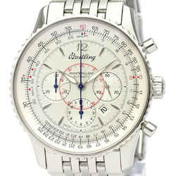 Polished BREITLING Navitimer Montbrillant Steel Automatic Watch A41370 BF534927