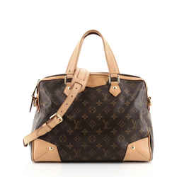 Retiro Handbag Monogram Canvas PM