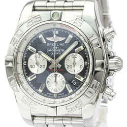 Polished BREITLING Chronomat 44 Steel Automatic Mens Watch AB0110 BF519042