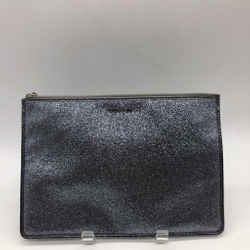 Coach Silver Shimmer Pouch