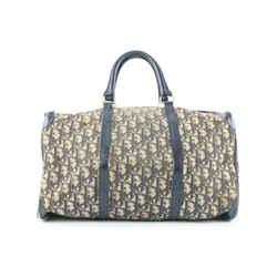 Dior Navy Monogram Trotter Boston Duffle bag 662da317
