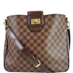 LOUIS VUITTON Cabas Rosebery Damier Ebene Shoulder Bag Brown