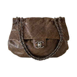 Chanel Rounded Flap Hobo Bag