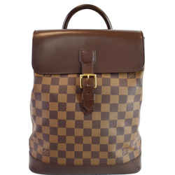 Soho Damier Ebene Backpack Bag Brown