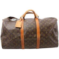 Louis Vuitton Monogram Keepall Bandouliere 50 Boston Duffle Bag GM  861906