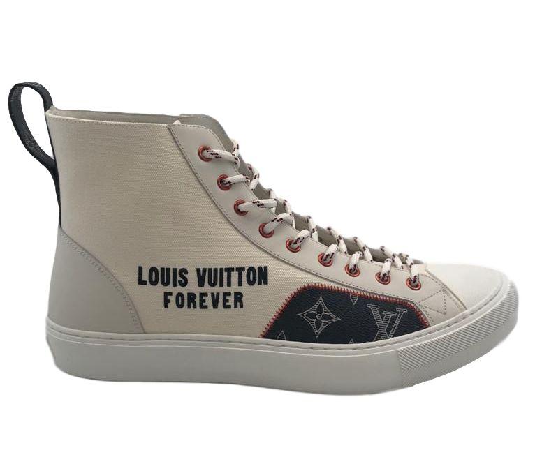Tattoo Sneaker Boot LV Forever   LePrix
