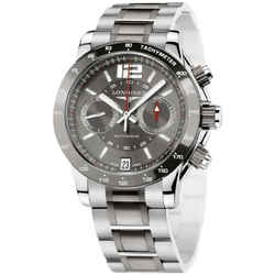 Longines Admiral Chronograph Automatic Watch L3.667.4.06.7