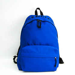 Balenciaga Wheel 507460 Unisex Nylon,Canvas Backpack Blue BF514101