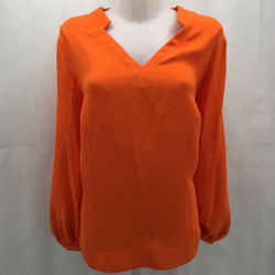 Escada Orange Basic Blouse 16