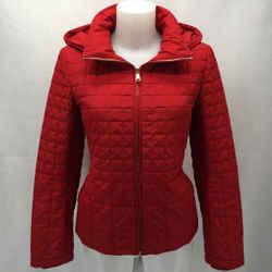 St John Red Puffer Jacket 4