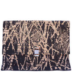 Proenza Schouler Printed Leather Lunch Bag New With Tags