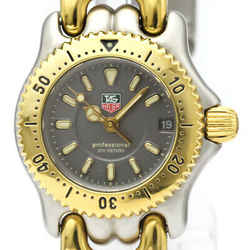 TAG HEUER Sel Professional 200M Gold Plated Steel Ladies Watch WG1420 BF521952