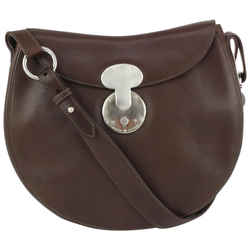 Ralph Lauren Brown Leather Ricky Crossbody Bag 187rl712