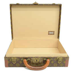 Authentic Louis Vuitton President Briefcase Early Vintage Monogram Signature Logo Travel Case