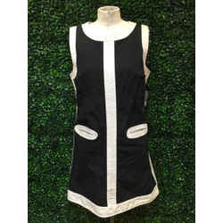 Marc Jacobs Size Large Navy & off white Dress