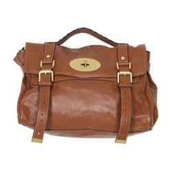 Mulberry Leather Alexa Satchel
