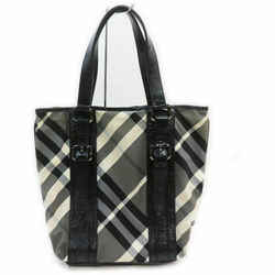 Burberry Black Nova Check Bucket Tote 860982