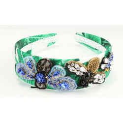Dolce&Gabbana Banana Leaf Print Headband