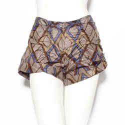 Bottega Veneta Printed Silk Shorts