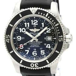 Polished BREILING Super Ocean II Steel Automatic Mens Watch A17392 BF534557