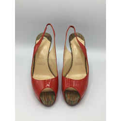 Christian Louboutin Size 41.5/10.5 Red Heels