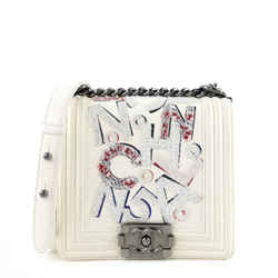 Boy No 5 Graffiti Lambskin Bag