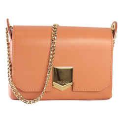 Jimmy Choo Powder Pink Lockett Shoulder Bag OCLF/028