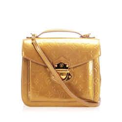Vintage Authentic Louis Vuitton Gold Vernis Miranda France