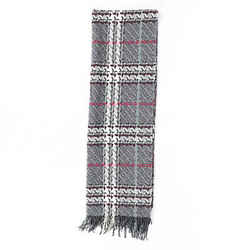 Burberry Houndstooth Wool Cashmere Scarf