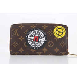 Louis Vuitton Monogram World Tour Zippy Wallet