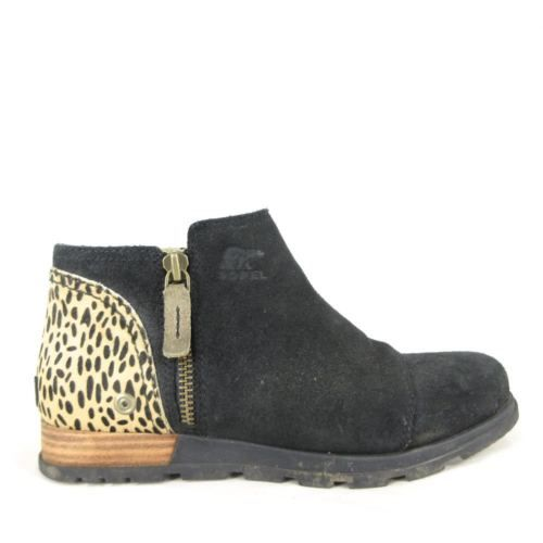 sorel leopard boots