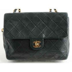 Chanel Vintage Quilted Single Flap Chain Shoulder Bag