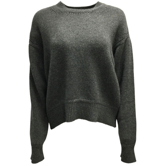 Dior Cashmere Charcoal Grey Sweater