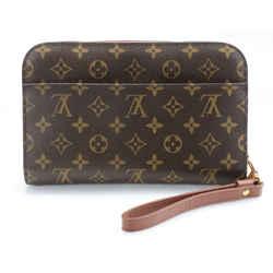 Louis Vuitton Monogram Canvas Pochette Orsay Clutch Bag