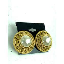 Chanel Jumbo Gold Pearl CC 21c617