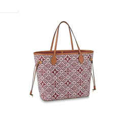 Louis Vuitton Rare Limited Red Bordeaux Since 1854 Neverfull MM Tote 861058