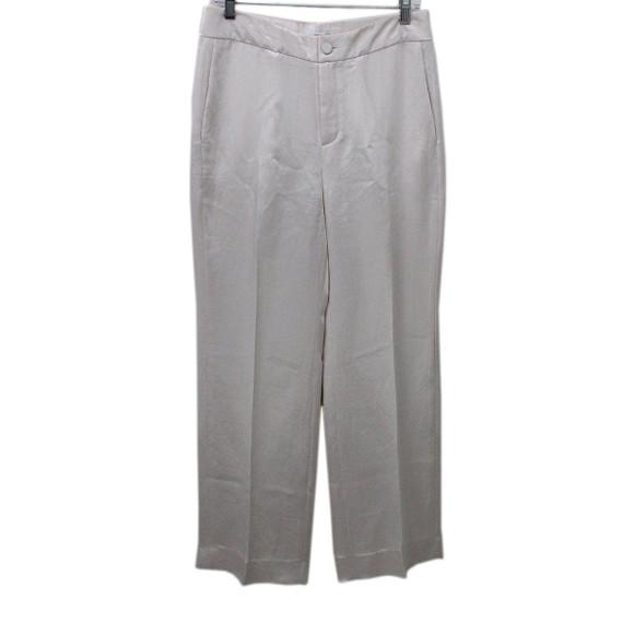 Lanvin Ivory Acetate Pants Sz 4
