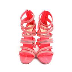 Christian Louboutin Zipper Pumps Pink Size 8 Authenticity Guaranteed