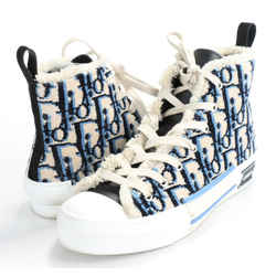 Dior B23 High-Top Sneakers - Beige, Black and Navy Blue Dior Oblique Tapestry